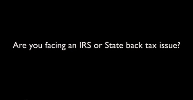 IRS Tax Relief  Back Taxes amp; Tax Relief Programs