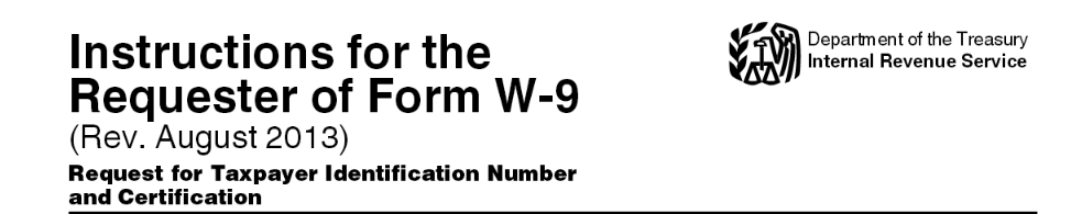 Form W 9 Reques... W 9 Form Fillable Printable 2016