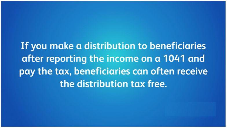 ▶ IRS Form 1041