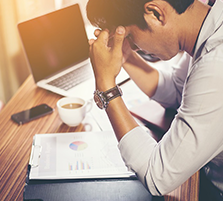 The stress of facing the IRS